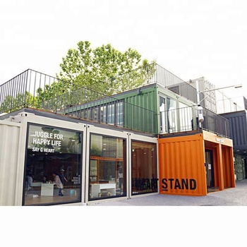 20ft 40ft 40HC Movable Container House Made from Shipping Containers China