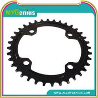 Aluminum alloy bike crank ,H0T2h metal bicycle chainring