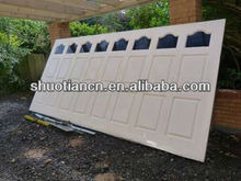 automatic industrial garage door
