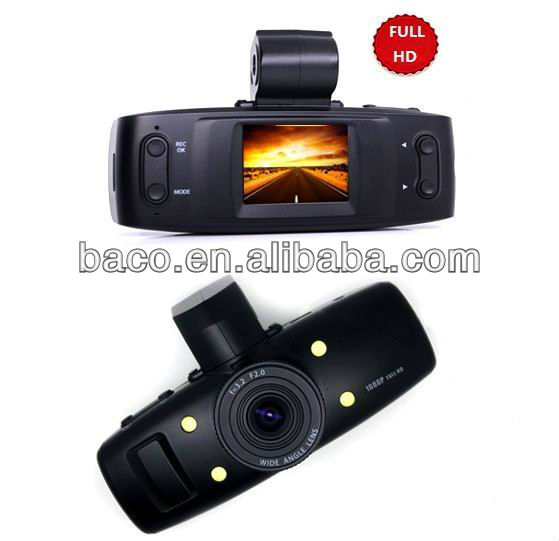 Car video reorder with 1080P GPS and 5MP sensor GS1000