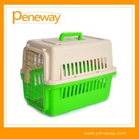 aluminum look folding dog cage