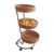 3-tier display baskets supermarket use shelf fruit basket stand rack