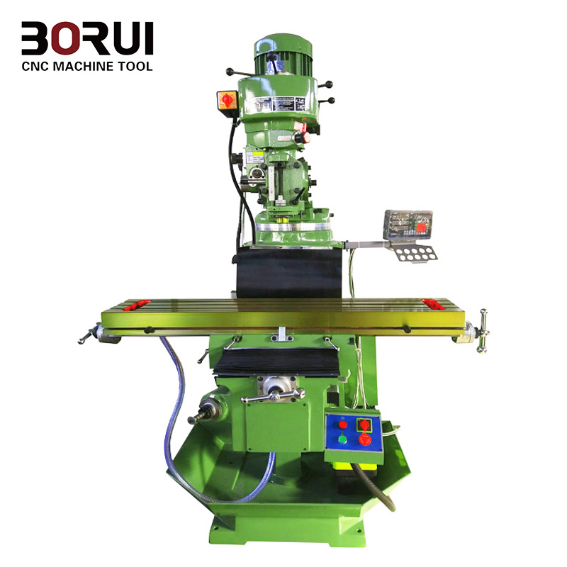 Heavy vertical and Horizontal universal Milling Machine with DRO  X6140T