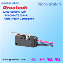 Safety switches push button on off small on off electric microswitch