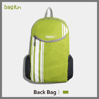 2016 Bagrun Good Design travel folder backpack light folderable bag