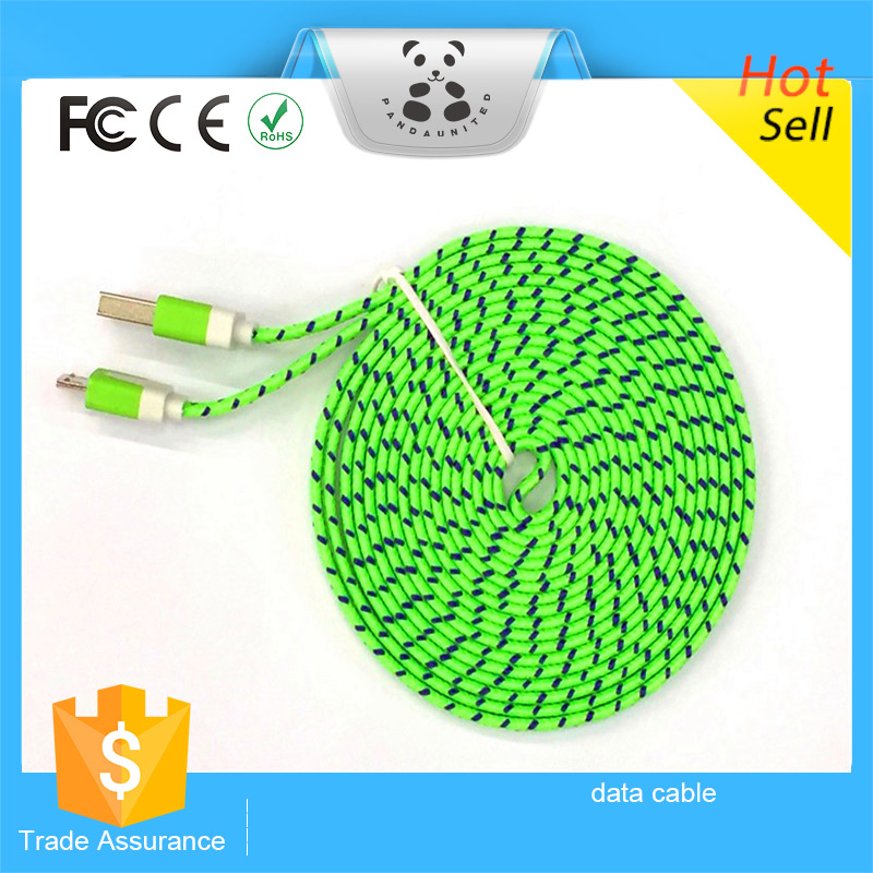 100% Good Quality Cell Phone USB Cable Date Sync Charging Charger Cable Cord USB Cable For Mobile Phone