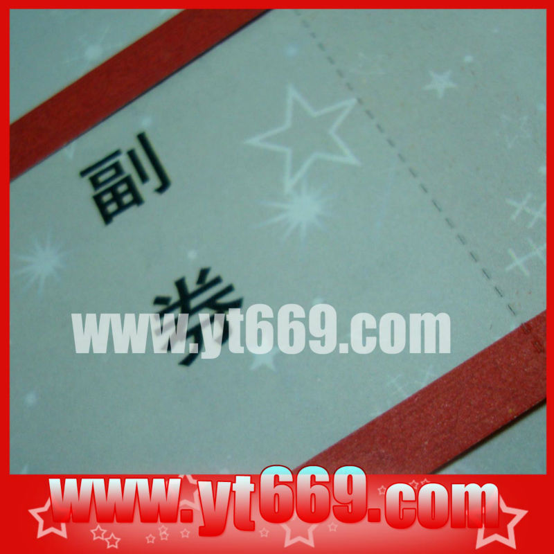 custom perforated paper