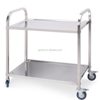 Hotel Equipment Stainless Steel 2 Tier
