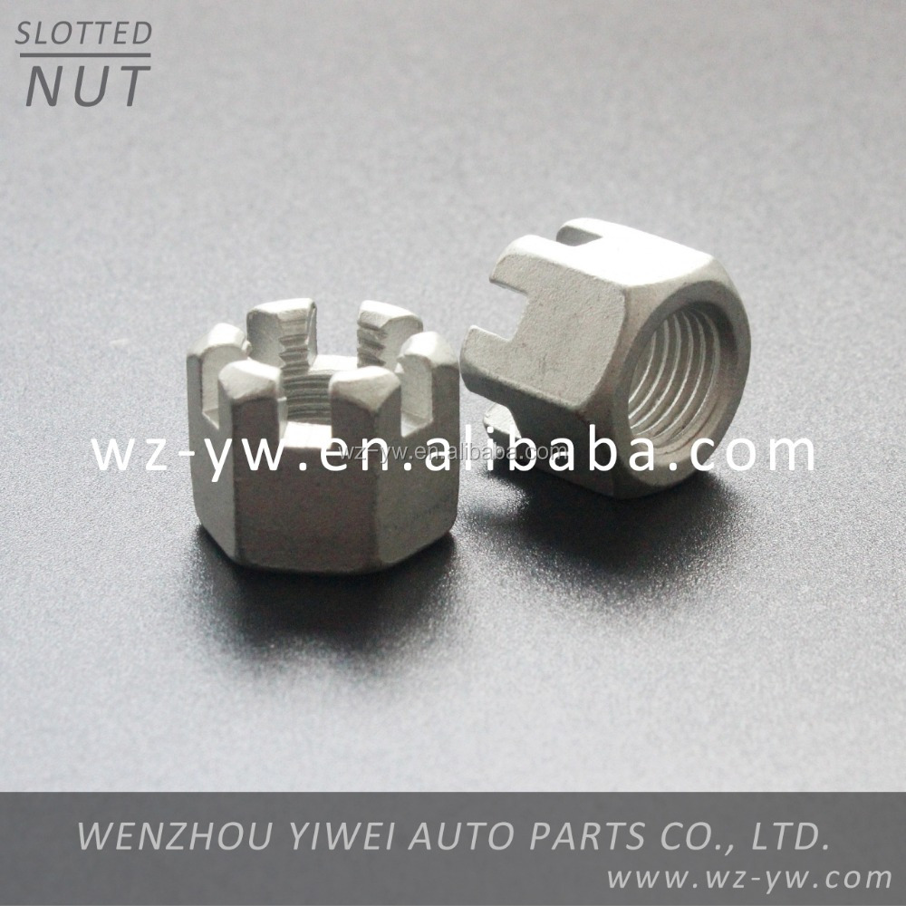 M12*1.5 wheel nut carbon steel hub nut