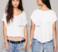 professional women t shirts garments, white t shirt custom alibaba china supplier