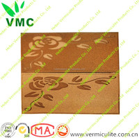 Fireproof Material Fire Board , Fire Insulation Vermiculite Panel, Decorative Pattern Wall Board