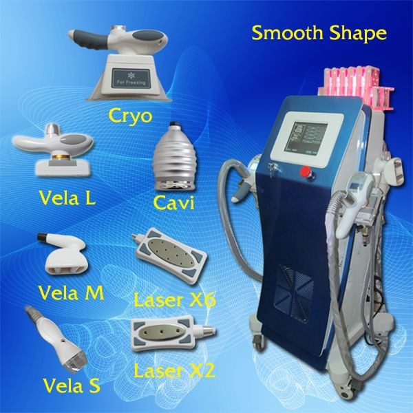 China high quality cheap salon beauty equipment fat freezing machine weight loss machine vela slimming laser skin tightening