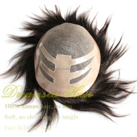 Human Hair Mens Hair Pieces