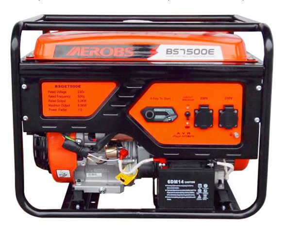 newest top quality 220v low noise cheap gas powered Portable Generator