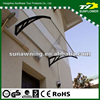 Virtually Unbreakable 6mm polycarbonate sheet awning