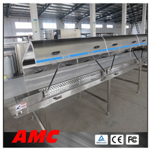 Standardized Modules Polyurethane Hoods ice cream cold plate Cooling Tunnel Machine For High-output Production Line