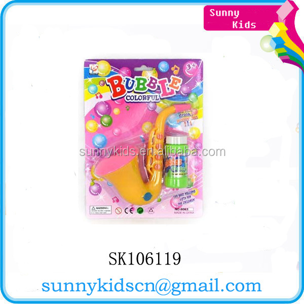 2014 soap bubble toy bubble saxophone toys