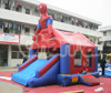 2016 newest product inflatable jumping bouncer for sale, Spiderman bouncer house, inflatable castcle combo
