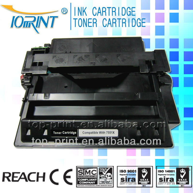 High profit margin Remanufactured toner Cartridge for HP Q7551X for Laser Jet P3005/P3005D/P3005DN/P3005X/P3035XS/M3035/M3027