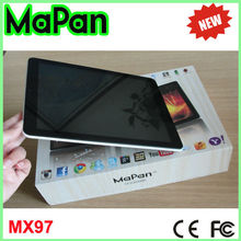 front camera android phone 9.7 inch pc tablets/touch screen tablet pc 3g with high resolution