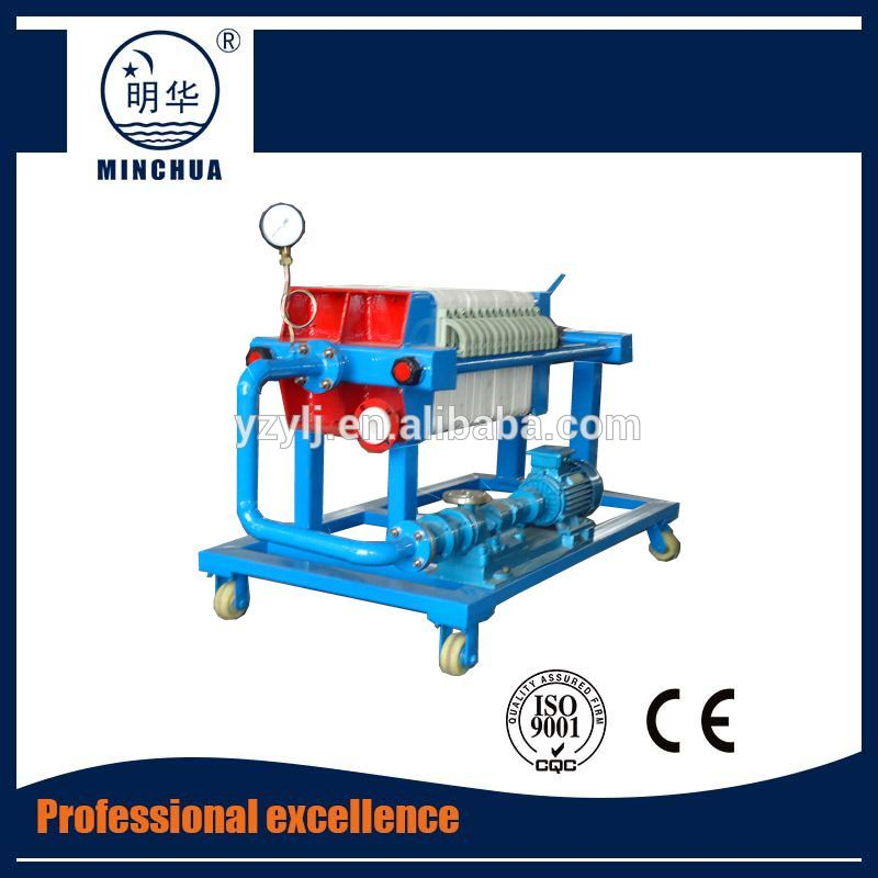 Plate frame filter press machine for sludge dewatering With Long-term Service