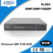 8CH 1080P/8CH 720P / 1 channel audio VGA output 8CH NVR,poe nvr