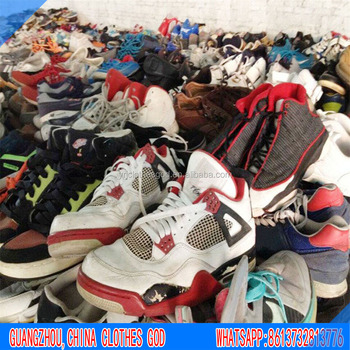 Qingdao China factory directly export second hand shoes clothing and bags for Africa market