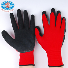 China working black cheap latex gloves