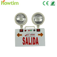 TOP Manufacturer SMD2835 rechargeable wall mounted prices of china emergency light with CE and Rohs