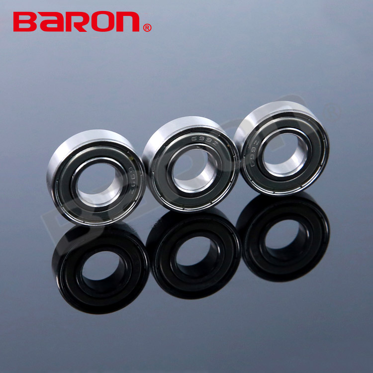 Chrome steel stamping bearing 626ZZ with 7 balls bearing 6*19*6mm