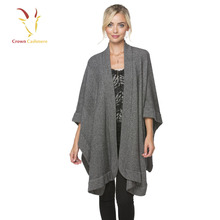 Solid Color Pashmina Shawl Cashmere Sleeveless Cardigan Shawls
