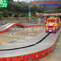 Amazing kiddie amusement convoy train rides