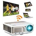 kodi TV projector with 2600Lumens led projector android wifi function