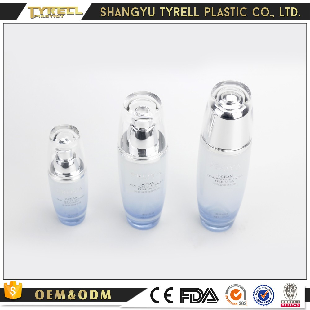 Alibaba China manufacturer glass cosmetic containers bottle