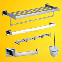 stainless steel bathroom hardware accessories set