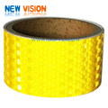 PVC / PET Truck Vehicle Safety Light Honeycomb Retro Conspicuity Reflective Tape
