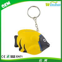Winho Tropical Fish Keyring Stress Toy