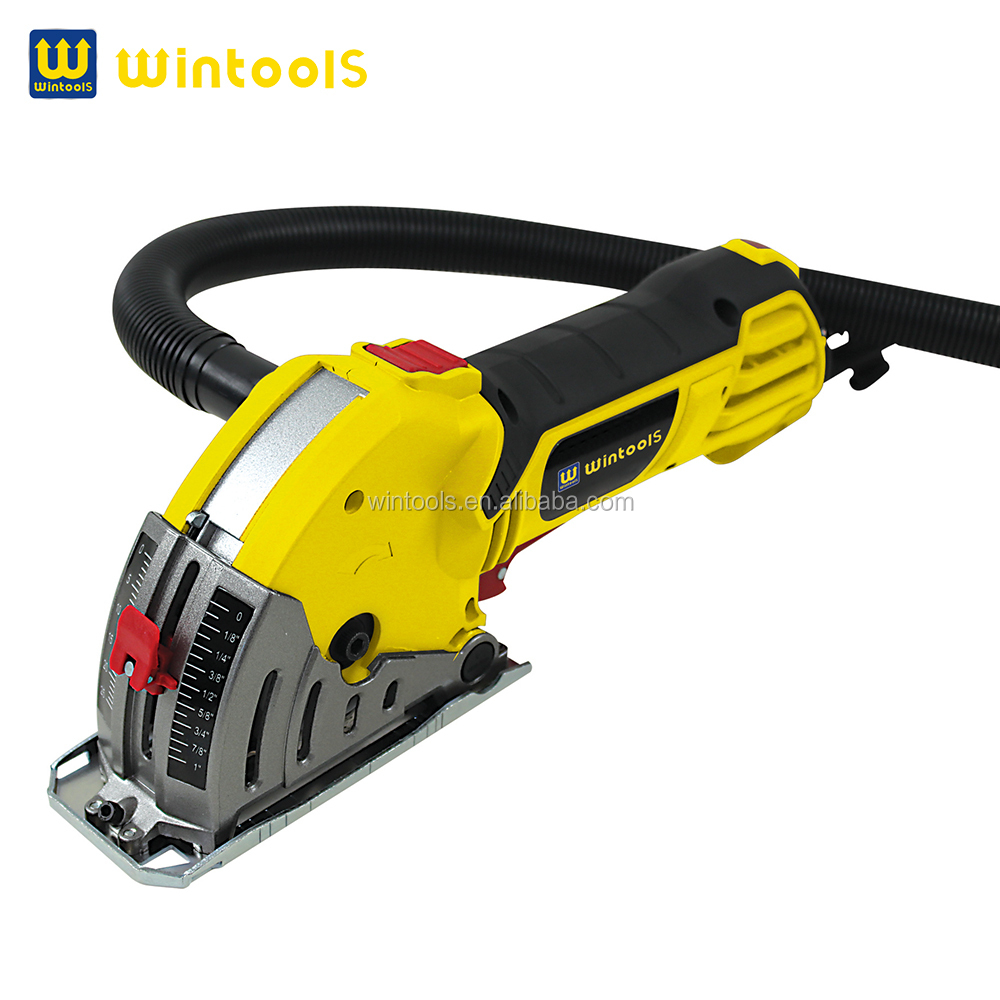 Durable mini electrical circular saw