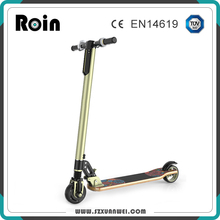 Hot sale adult electric scooter 250W foldable wood kick scooter