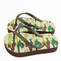 Men camouflage eva printing high fashion flip flip sandals