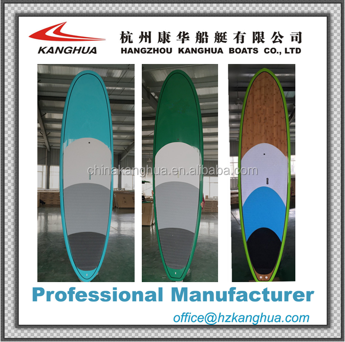 OEM color design best shape 9'11'' all rounder woman and kids SUP paddle board with logo on top