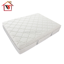 WY02-SK Spring pocket Bed King Size and Pillow Top Mattress