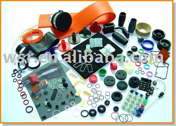 Custom molded electronic silicone rubber products