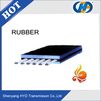 China supplier stretch rubber conveyor belt