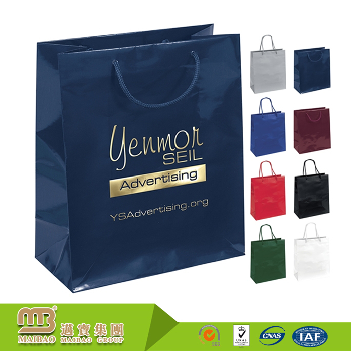 Free Sample Good Quality Custom Own Special Design Printing Company Names Of Paper Bags