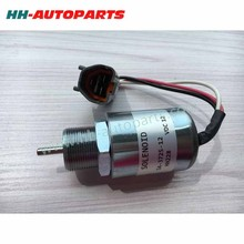 Stop Solenoid SA-3725-12, 1751ES for Mitsubishi, Tractor 12V Synchro Start 30A87-10044, PJ7415748