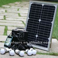 20Watt---80Watt Portable Miniature Solar Lights/Mini Solar Power Lighting Mobile Phone Charging