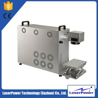 High efficiency laser marking machine for auto parts for Jewelry/watch/led/automobile/ic/iphone/pc Keyboards