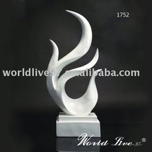 1752 modern style resin decoration sculpture