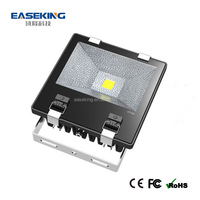 Parking flood lights with CE Rohs China driver & Epistar mini ultra thin led floodlig 70w